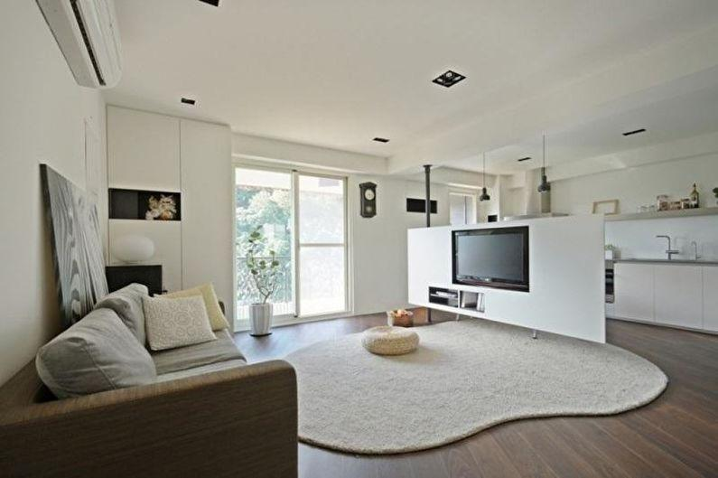 переделка однокомнатной квартиры в студию фото агара