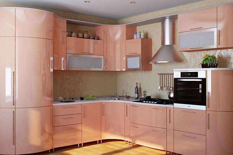 Кухня персиковый картинки