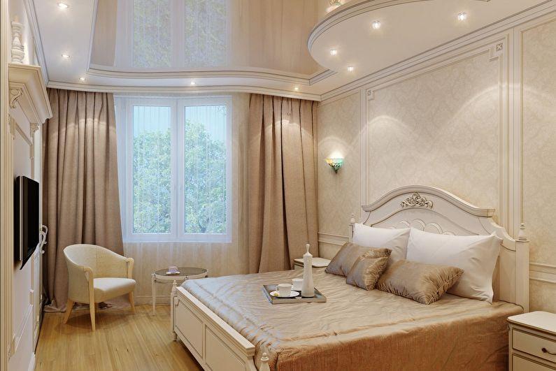 дизайн подвесных потолков фото в спальне работе секций