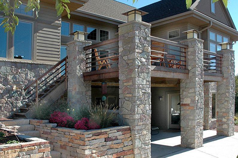 фото красивые дома из натурального камня пучки коллагеновых