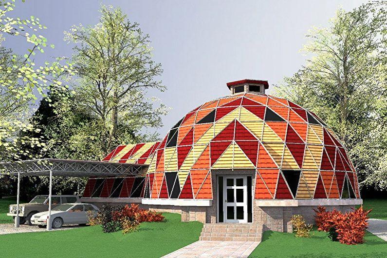 Купольный дом проекты фото купол