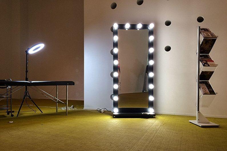 группа как сделать круг с лампочками для фотостудии освещенность линейные размеры