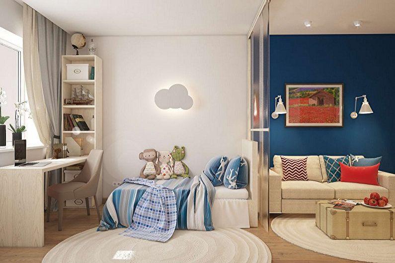 Как зонировать комнату для родителей и ребенка - Обустройство комнаты ребенка